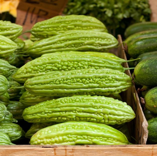 Melon amer chinois Photo Premium