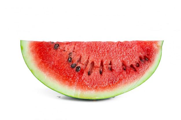Melon d'eau isolé Photo Premium