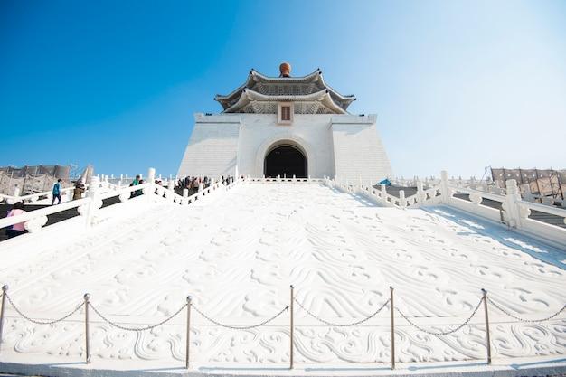 Mémorial de chiang kai-shek Photo Premium