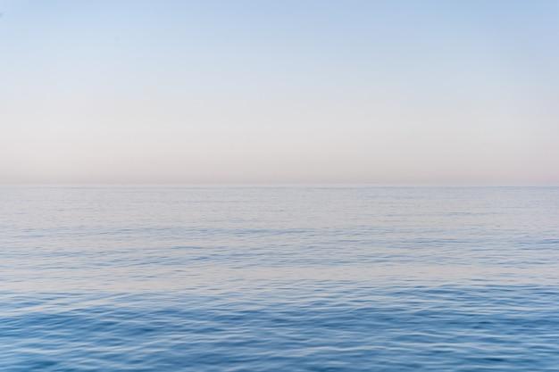 La mer et le ciel Photo Premium