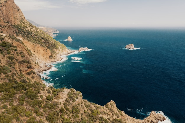 Mer Et Montagnes Photo gratuit