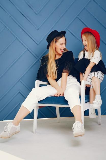 Mère et fille Photo gratuit