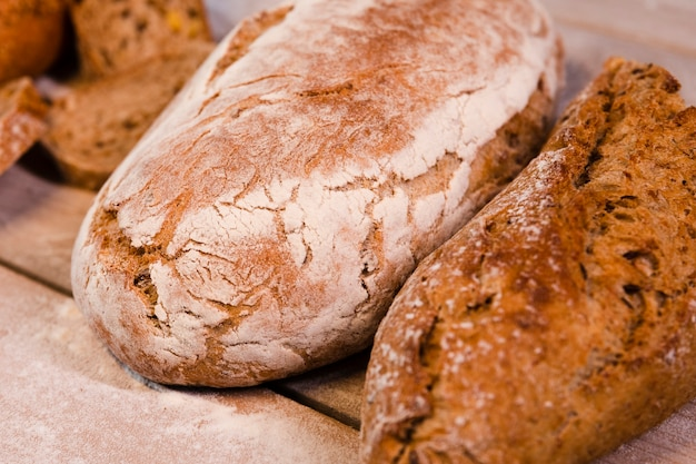 Miche de pain au four Photo gratuit