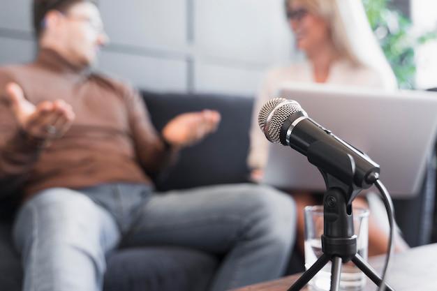 Microphone Pour Interview Photo gratuit
