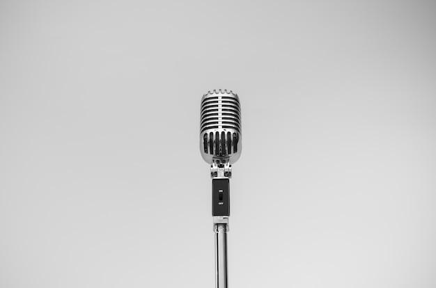 Microphone vintage Photo Premium