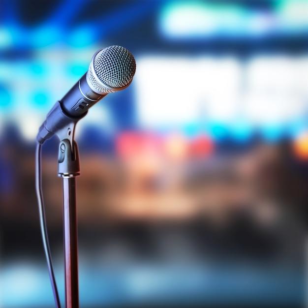 Microphone Photo Premium