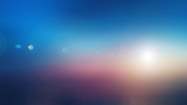 Milieux de ciel abstrait nature floue Photo Premium