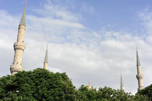 Minarets à istanbul Photo Premium