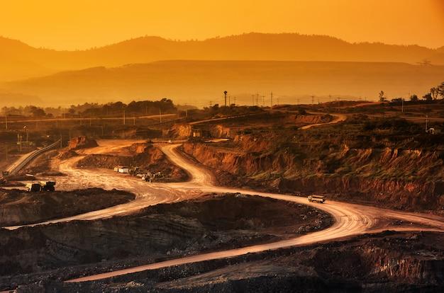 Mine de charbon Photo Premium