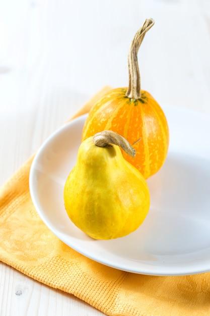 Mini citrouilles Photo Premium