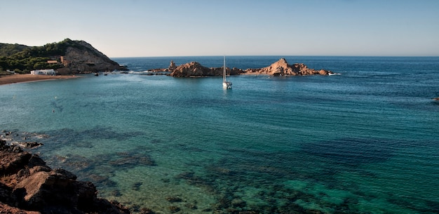 Minorque, Paysage Marin De L'espagne Photo Premium