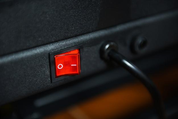 Mise Hors Tension Dans Les Appareils électroniques Photo Premium