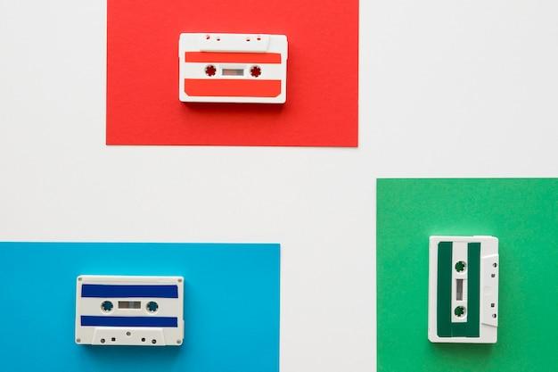 Mise à Plat Du Concept De Musique Avec Espace Copie Photo gratuit