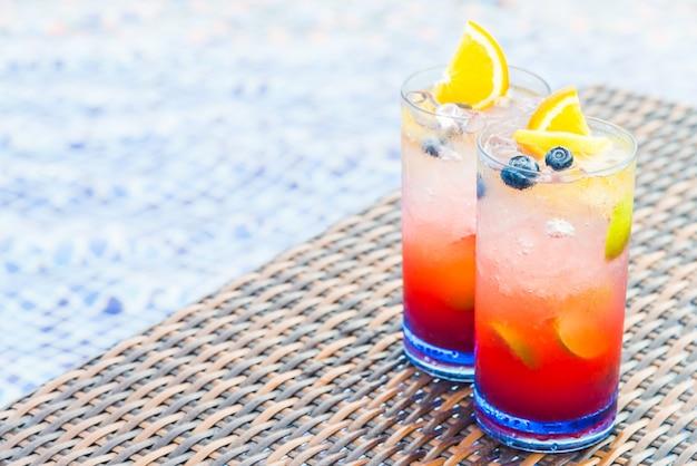 Mocktail de fruits Photo gratuit