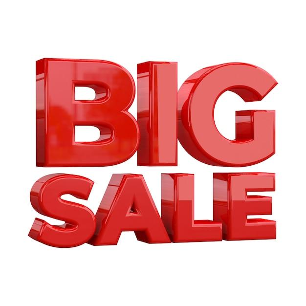 Modèle de bannière big sale, promotion spéciale big sale Photo Premium
