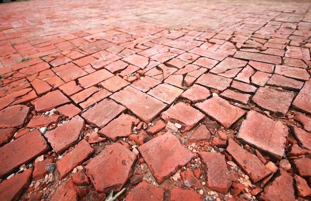 Modèle de carreaux de sol de rue Photo gratuit