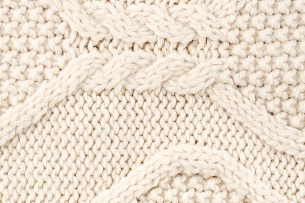 Modèle de laine crème Photo gratuit