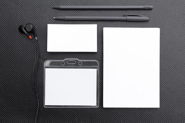 Modèle de papeterie vierge Photo Premium