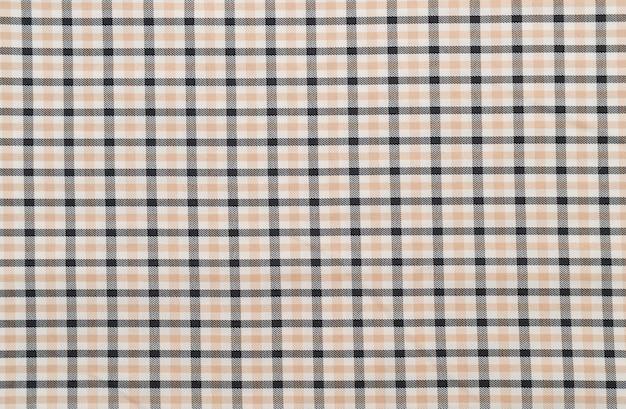 Modèle de tartan gris écossais traditionnel Photo gratuit