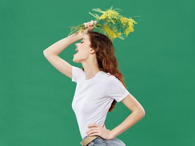 Modèles De Beaux Jeunes Posant, Concept De Beauté, Portrait De Mode Photo Premium