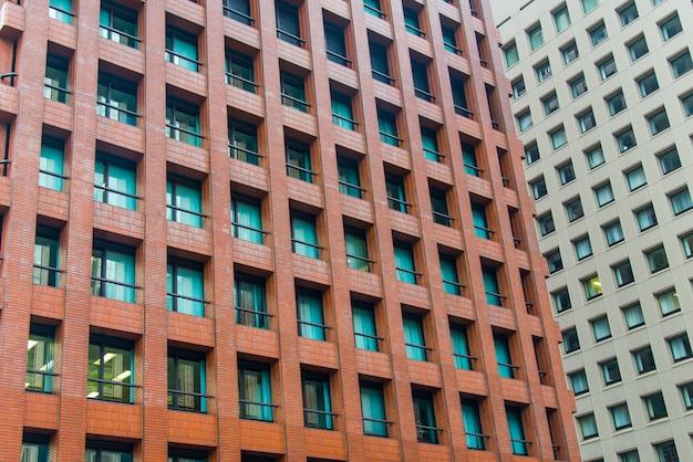 Moderm bâtiment texture pour les affaires. Photo Premium