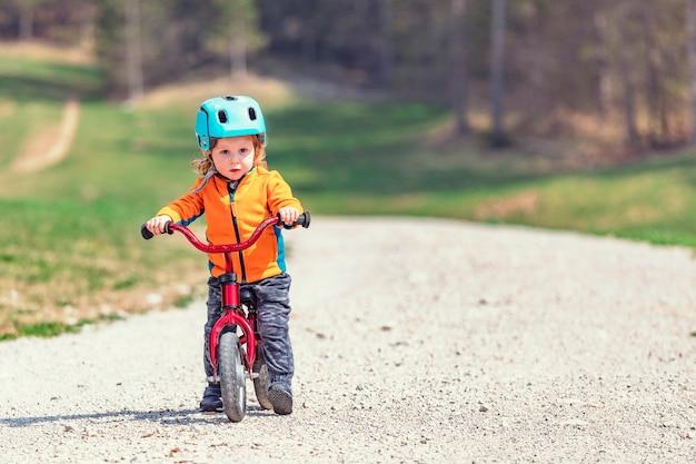 Moi et mon vélo Photo Premium