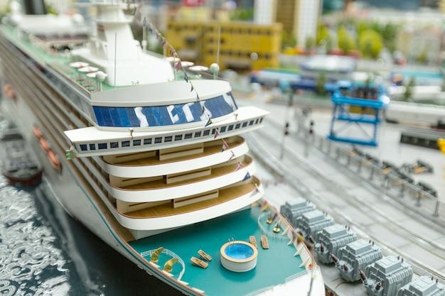 Monde miniature, gros plan Photo Premium