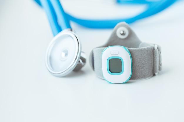 Moniteur de fréquence cardiaque Photo Premium