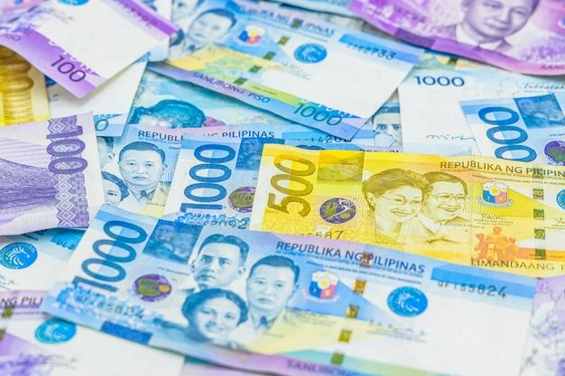 Monnaie de monnaie philippine Photo Premium