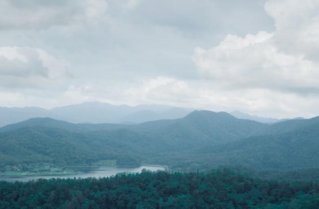 Montagne nature paysage Photo Premium