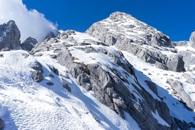 Montagnes Enneigées Photo Premium