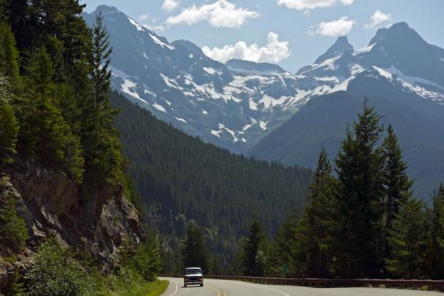 Montagnes northern cascades Photo gratuit