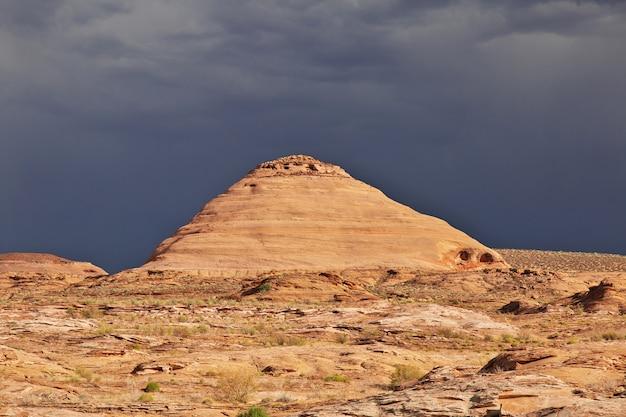 Monter Près Du Lac Powell En Arizona, Paige, états-unis Photo Premium