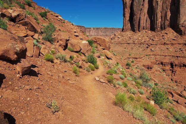 Monument valley dans l'utah et l'arizona Photo Premium