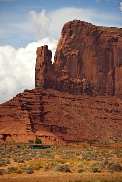 Monument valley scenery Photo gratuit