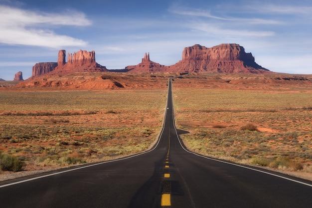 Monument valley, tribal park, arizona, utah, états-unis Photo Premium