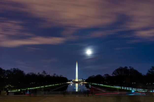 Le monument de washington Photo Premium