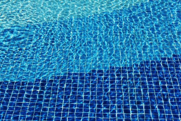 Mosaïque de piscine Photo Premium