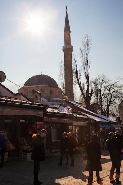 La mosquée bascarsijska dzamija, sarajevo Photo Premium