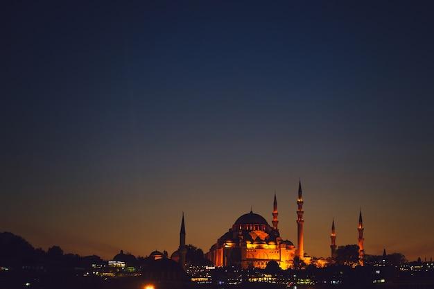 Mosquée Bleue à Istanbul Photo gratuit