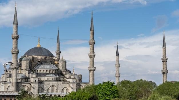 Mosquée Bleue Sultan Ahmed Mosque Sultanahmet, Istanbul, Turquie. Photo Premium