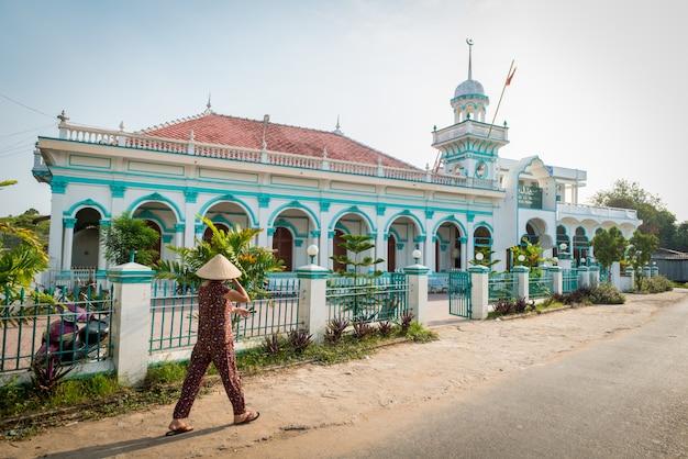 Mosquée Vietnamienne Au Delta Du Mékong Photo gratuit