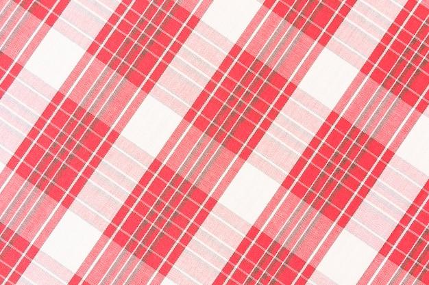 Motif à carreaux rouge sans couture Photo gratuit