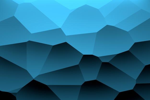 Motif géométrique de couleur bleu foncé Photo Premium