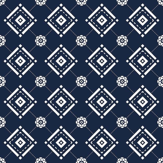 Motif Géométrique Sans Soudure Photo Premium