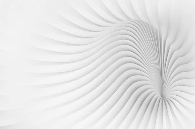 Motif à l'image d'une structure de corps ondulée Photo Premium