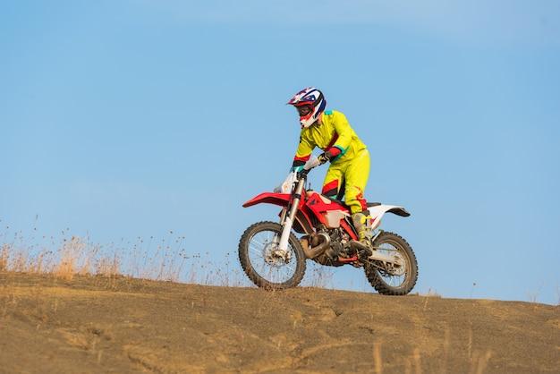 Motocross incroyable Photo Premium