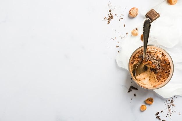 Mousse au chocolat Photo gratuit