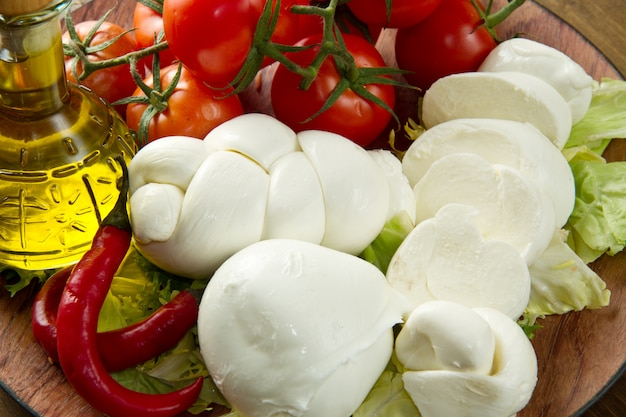 Mozzarella Photo Premium