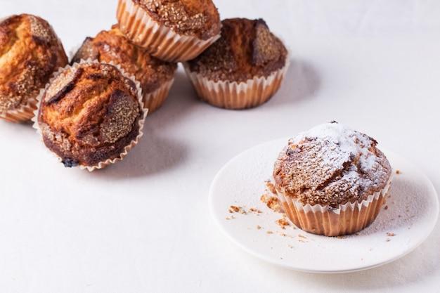 Muffins Au Sucre Photo Premium